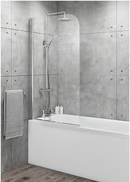 Square Top Bath Screen