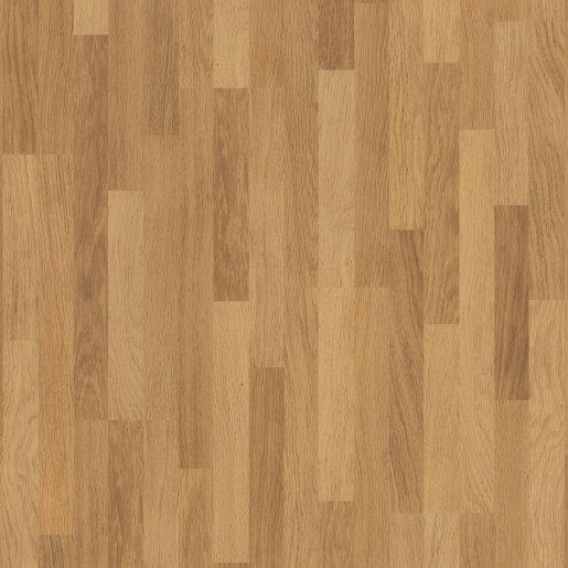 Quick Step: Classic Enhanced Oak Natural Varnished 3 Strip Laminate Flooring