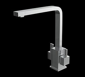 Dual Lever Mono Kitchen Sink Mixer Tap