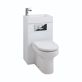 Gloss White WC Unit with Montego Pan & Seat