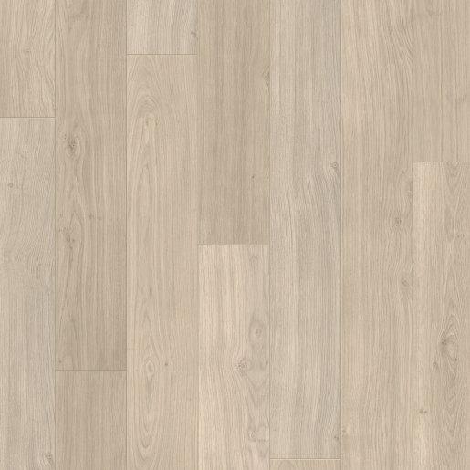Quick Step: Elite - Light Grey Varnished Oak Planks Laminate Flooring