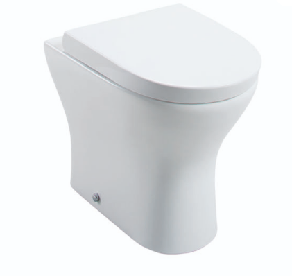 SPEK BACK TO WALL PAN WITH WRAPOVER SEAT OPTION