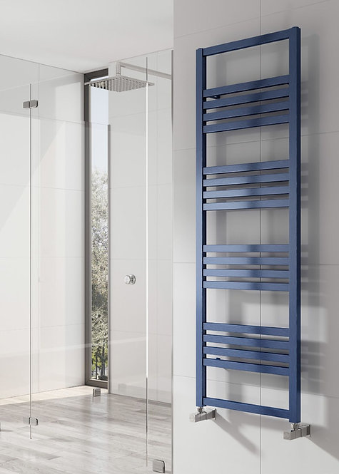 BOLCA TOWEL RAIL SATIN BLUE 1530 x 485