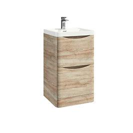 Bella 500 Floor Cabinet Driftwood