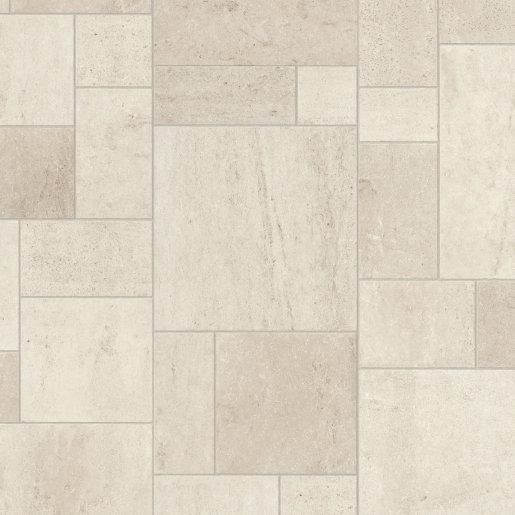 Quick Step: Exquisa Ceramic White Tile Laminate Flooring