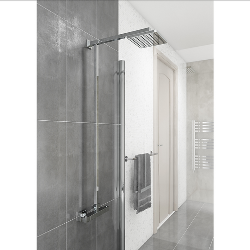 Term Square Style Thermostatic Shower Kit