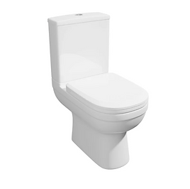 Lifestyle Close Coupled WC Pan with Soft Close Seat