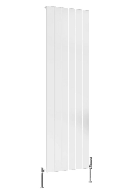 CASINA ALUMINIUM RADIATOR - 1800 X 375 WHITE DOUBLE