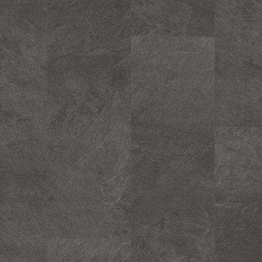 Quick Step: Black Slate Vinyl Flooring Tiles