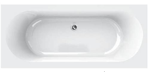 Capital Ienna 1800 x 800 White Coated (Re-inforced) Bath