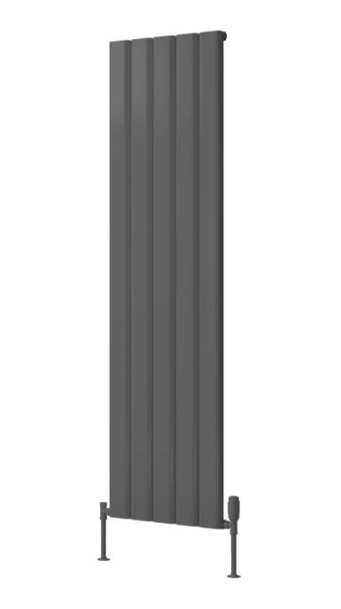 VICARI ALUMINIUM RADIATOR - 1800 X 400 SINGLE ANTHRACITE