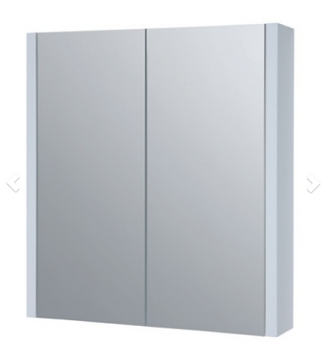 Purity 600mm Mirror Cabinet - White