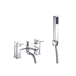 Dima Bath Shower Mixer with shower kit and wall bracket