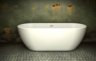 India 1690 Double Ended Freestanding Bath