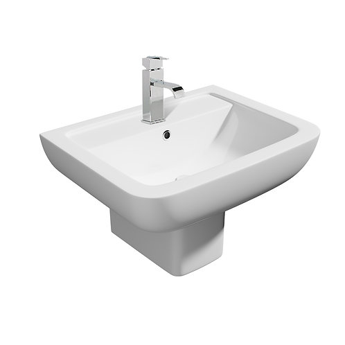 Options Basin with semi-pedestal