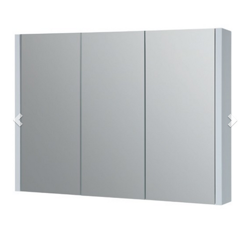 Purity 900mm Mirror Cabinet - White