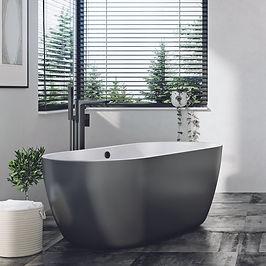 Bath in Matt Black Base