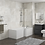 Thumbnail: HALLE RIGHT L SHAPE BATH WITH SCREEN & SIDE PANEL 1700×700