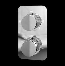 Moderno Thermostatic Concealed Shower Valve (Dual function)