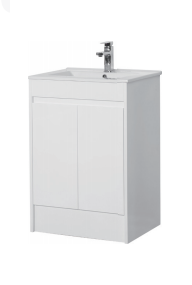 Gloss White Basin - Icladd Solid PVC Furniture