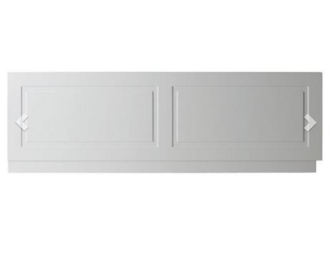 Astley Bath Front Panel 1800mm - Matt White