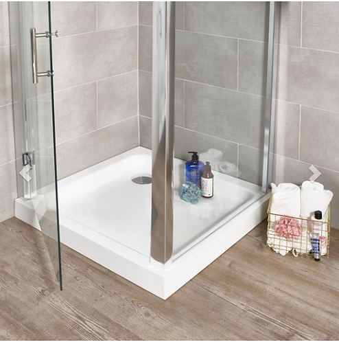 Klassik Shower Trays Square Trays - 800mm