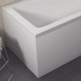 White Gloss Waterproof End Panel 700mm