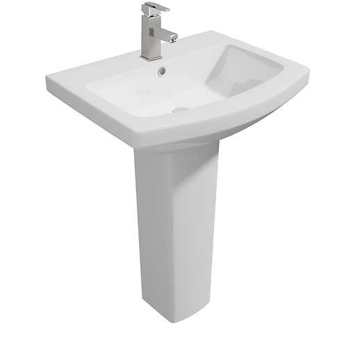 Trim 550mm 1th Basin & Pedestal
