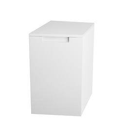 Henley Gloss White Handed Side Cabinets - Right Hand