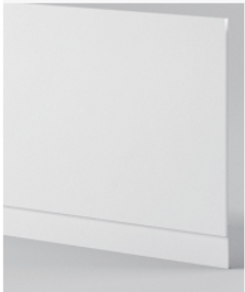 Gloss White End Panel - Icladd Solid PVC Furniture