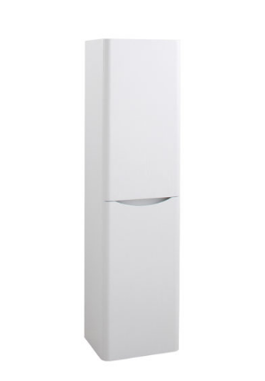 BALI WHITE ASH WALL MOUNTED BATHROOM STORAGE CABINET