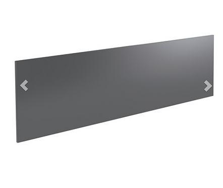 Ikon Bath Front Panel 1800mm - Grey