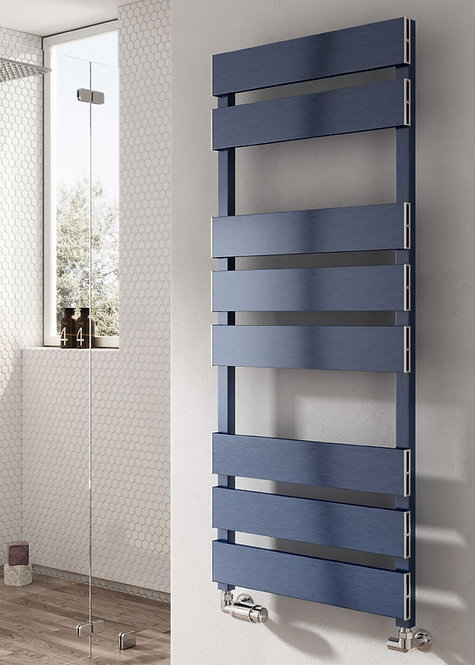 FERMO TOWEL RAIL SATIN BLUE 1550 x 480