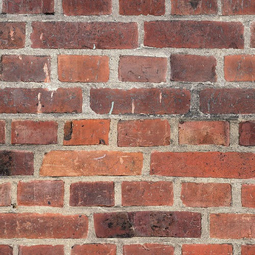 Guardian Rustic Red Brick Effect Wall Panels - Pack of 4
