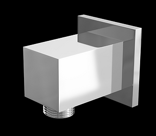 Square Brass Elbow Outlet