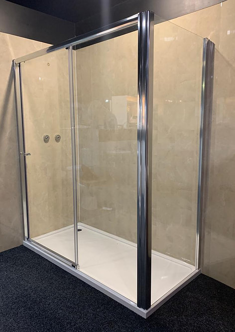 Roman Haven Low Level Sliding Door & Side Panel