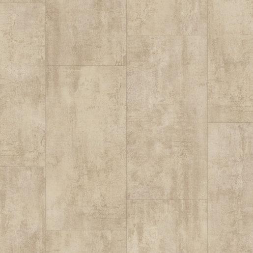 Quick Step: Cream Travertine Vinyl Flooring Tiles