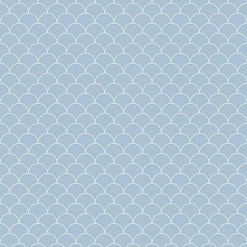 Showerwall Cladding - Scallop Blue