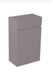 Stone Grey Storage Unit - Icladd Solid PVC Furniture
