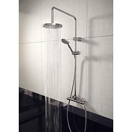 Lagos Round Style Thermostatic Shower Kit