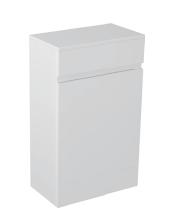 Gloss White Storage Unit - Icladd Solid PVC Furniture