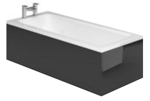 Capital 800mm Bath End Panel Shad0