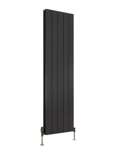 ANDES ALUMINIUM RADIATOR - 1800 X 415 SINGLE ANTHRACITE
