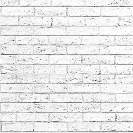 Guardian Rustic White Brick Effect Wall Panels - Pack of 4
