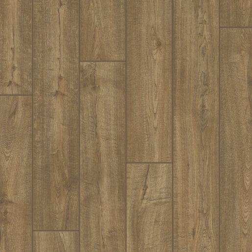Quick Step: Impressive Ultra Scraped Oak Grey Brown Laminate Flooring
