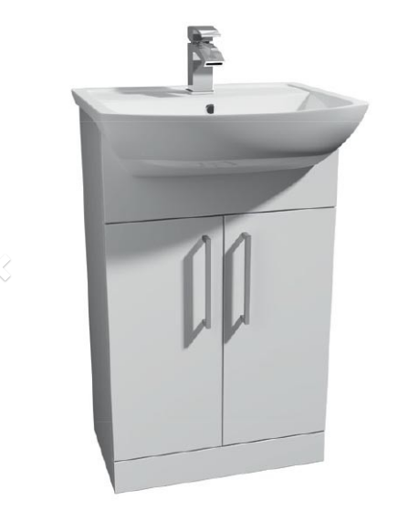 Pure 550mm Cabinet with Basin