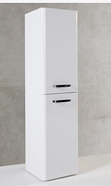 Options Wall Mounted Side Unit - White