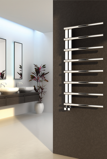 CELICO 500 X 1000 STAINLESS STEEL TOWEL RADIATOR