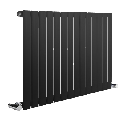 NEVA DESIGNER RADIATOR - 1800 X 413 DOUBLE ANTHRACITE