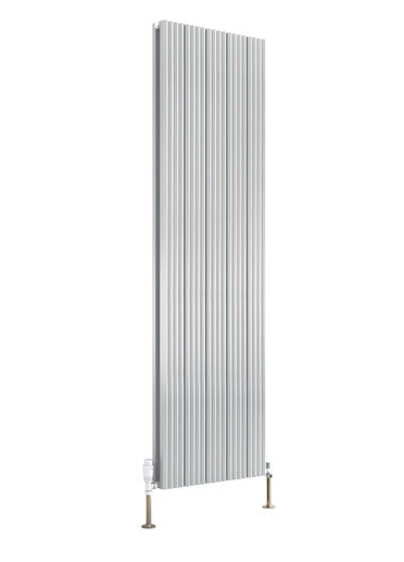 ANDES ALUMINIUM RADIATOR - 1800 X 310 SINGLE WHITE